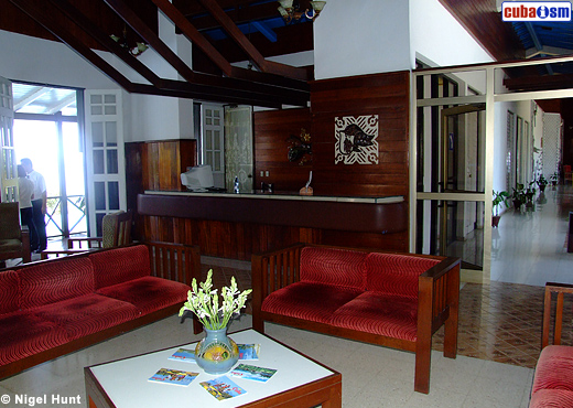Hotel Caimanera Upper Lobby Reception