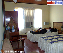 Hotel Caimanera, Twin Room